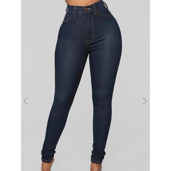 Fashion Nova Classic High Waist Jeans